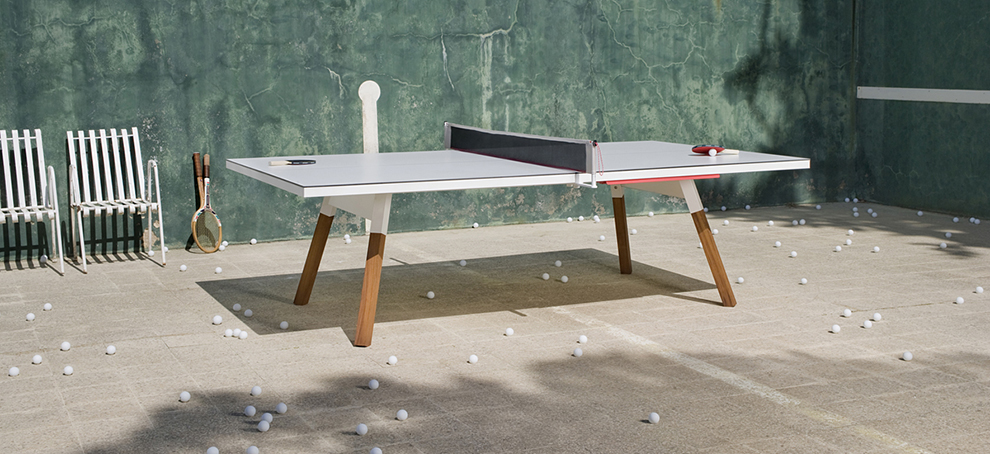 You&Me. A ping pong relationship between design and sport.