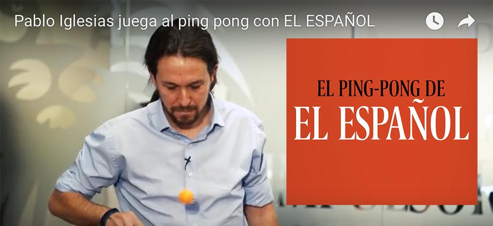 La politica del ping pong in Spagna